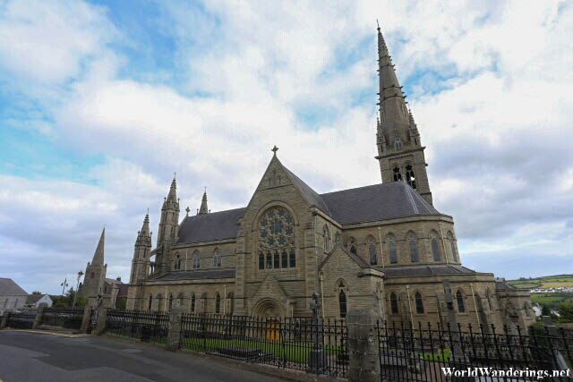 A Look at the Cathedral of Saint Eunan and Saint Columba in Letterkenny