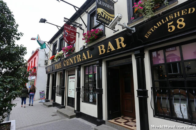 Charming Irish Pub at Main Street in Letterkenny