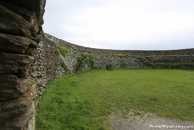 Inside the Walls of the Grianan of Aileach
