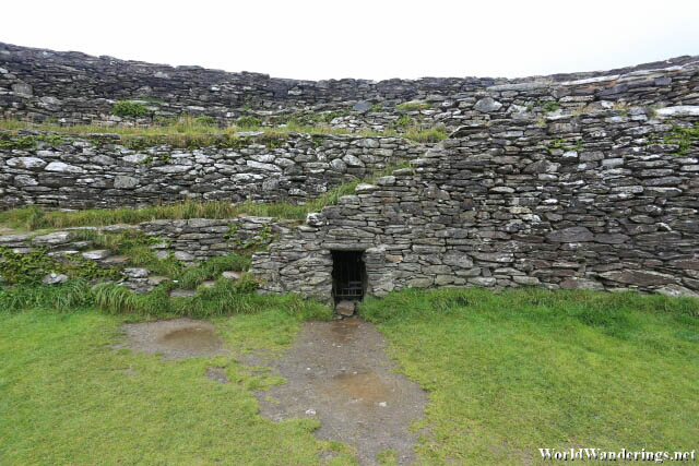 Small Passageway at the Grianan of Aileach