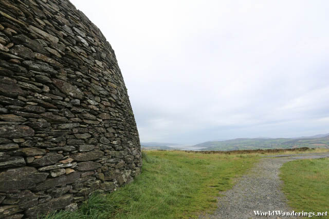 Desolation at the Grianan of Aileach