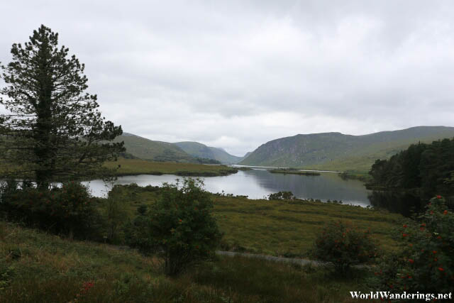 Beautiful Valley Lake at Glenveagh National Park