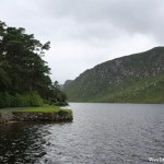 Walking Along the Lake at Glenveagh National Park