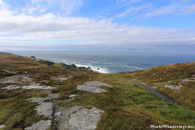 A Look at the Atlantic Ocean from Malin Head