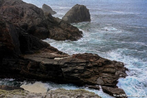 Very Rugged Rocks at Malin Head