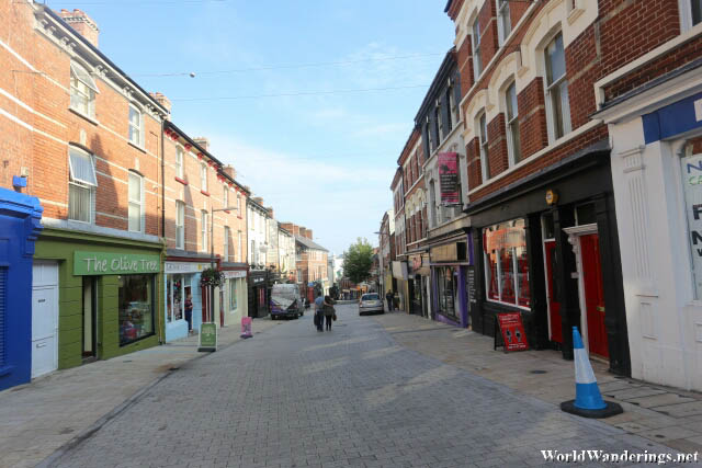 Streets of Derry-Londonderry