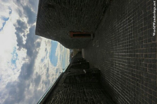 The Walls of Ebrington Square in Derry-Londonderry