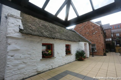 Traditional Irish House at the Derry Craft Village