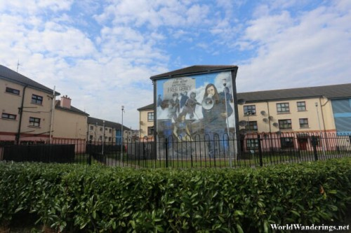 Impressive Mural at Free Derry