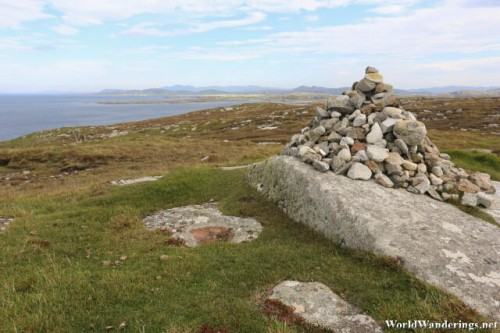 Possible Stone Memorial at Melmore Head