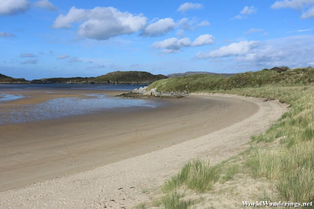 Cold Weather Beach at Ards Forest Park