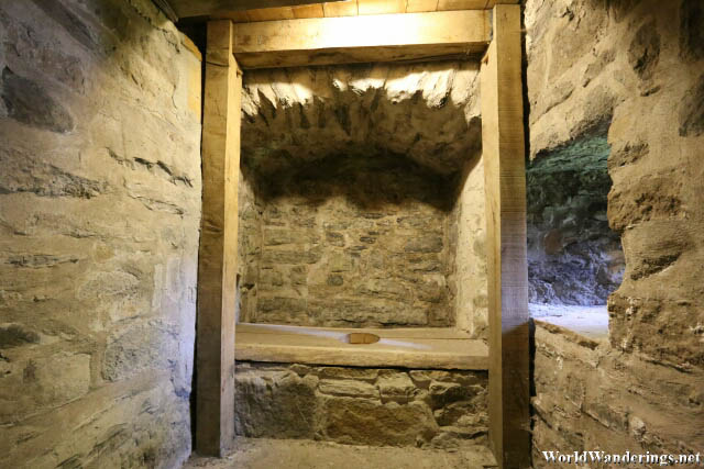 Toilet at Donegal Castle