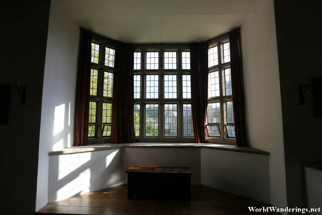 Large Windows at Donegal Castle