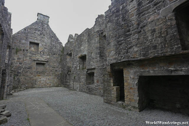 Ruins of a Structure in Donegal Castle
