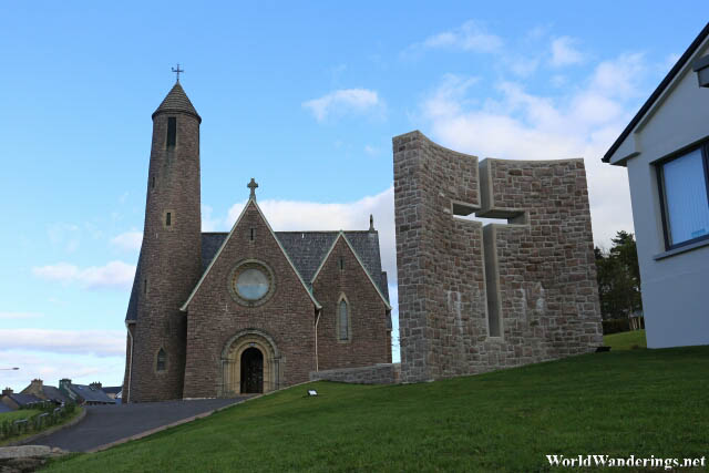 Saint Patrick's Church in Donegal Town