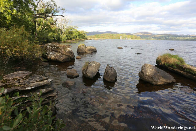 Rocks on the Shores of Lough Eske