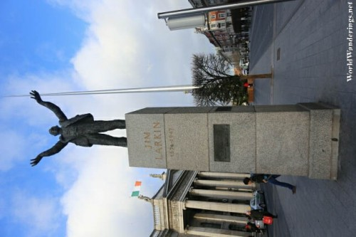 Statue of James Larkin on O'Connell Street