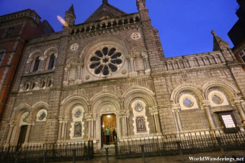 Church of Saint Teresa on Clarendon Street in Dublin