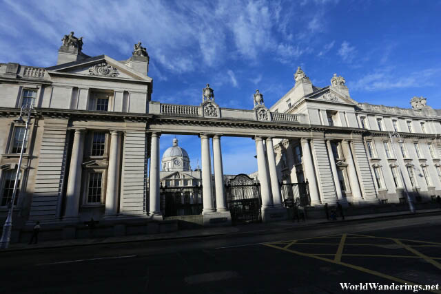 Elegant Buildings at the Department of the Taoiseach