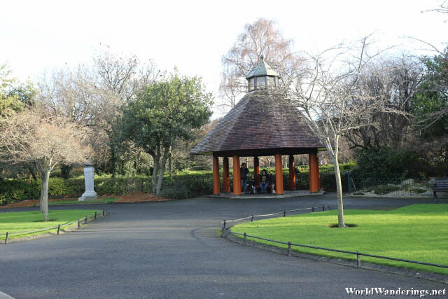 Pavilion at Saint Stephen's Green
