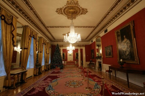 Grand Hallway at Dublin Castle