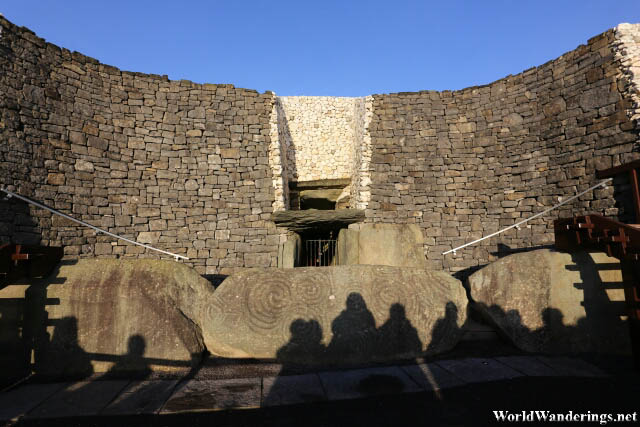 Newgrange Stone Age Passage Tomb Entrance