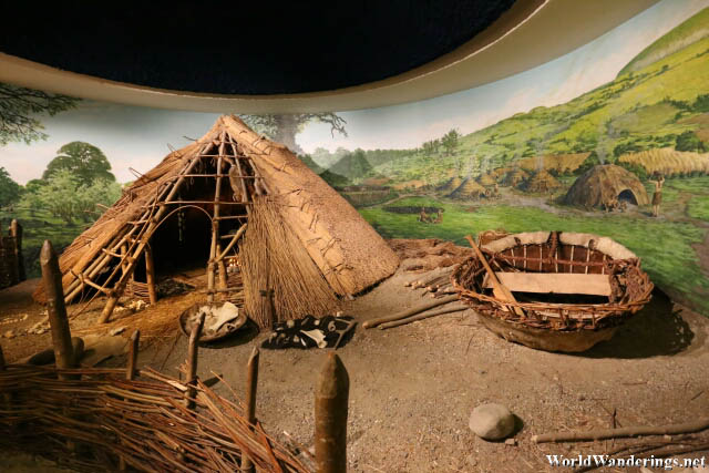 Newgrange Visitor Center Exhibits