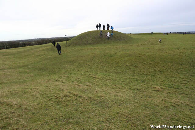 Walking Up the Hill of Tara