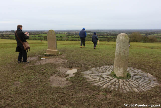 Stone of Destiny at the Hill of Tara