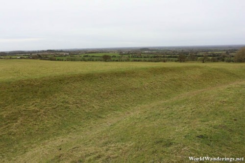 Hilly Terrain on Top of the Hill of Tara