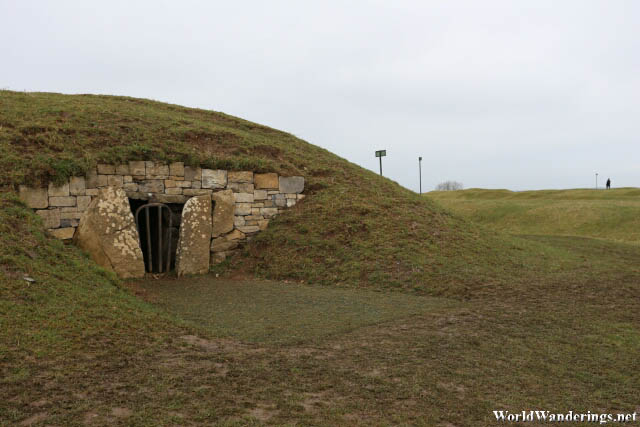 Entrance to the Mound of the Hostages