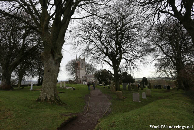 Church of Saint Patrick at the Hill of Tara