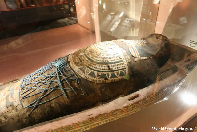 Egyptian Mummy at the National Museum of Ireland