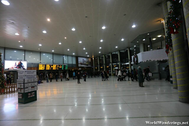 Departure Area at the Dublin Busara Bus Station