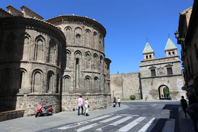 Ancient Looking Church at the Historic City of Toledo