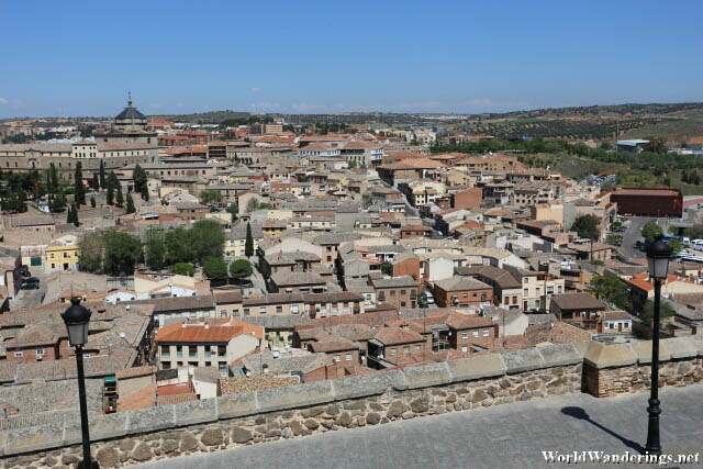 View of the Rest of the City of Toledo