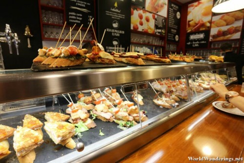 Pick and Choose What Pinchos You Want at Lizarran