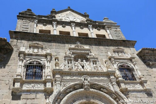 Impressive Facade of Museo de Santa Cruz at the Historic City of Toledo