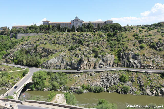 Cliffside View at the Historic City of Toledo