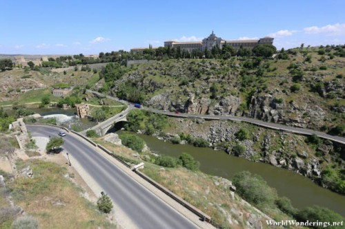 View of the Cliff by the Historic City of Toledo