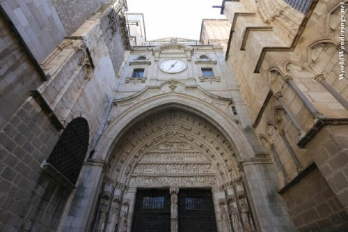 One of the Side Entrances of the Cathedral of Toledo