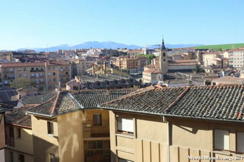 View Above the Old Town of Segovia
