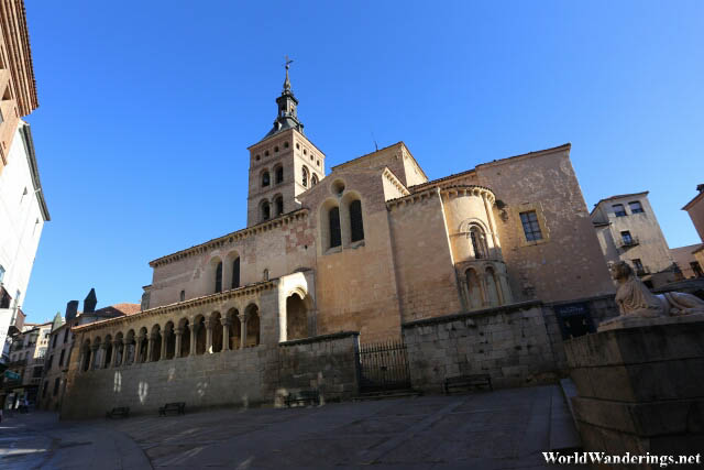 Church of Saint Millán in the Old Town of Segovia