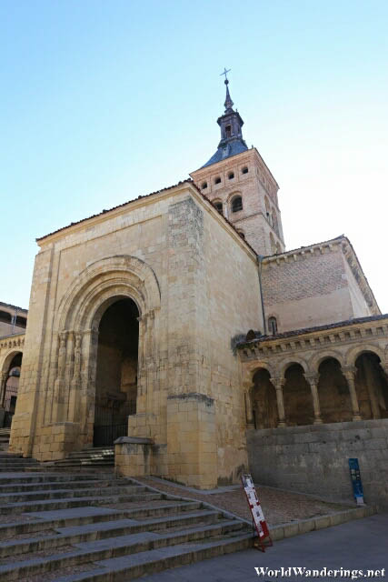 Church of of San Millán in the Old Town of Segovia