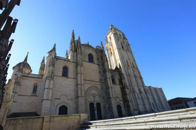 Main Entrance of the Cathedral of Segovia
