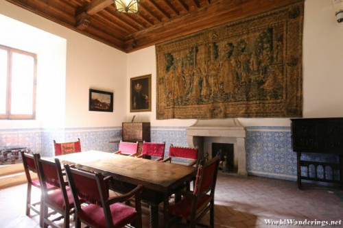 Dining Hall at the Alcazar de Segovia