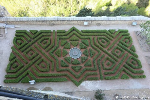 Hedge Maze at the Alcazar de Segovia