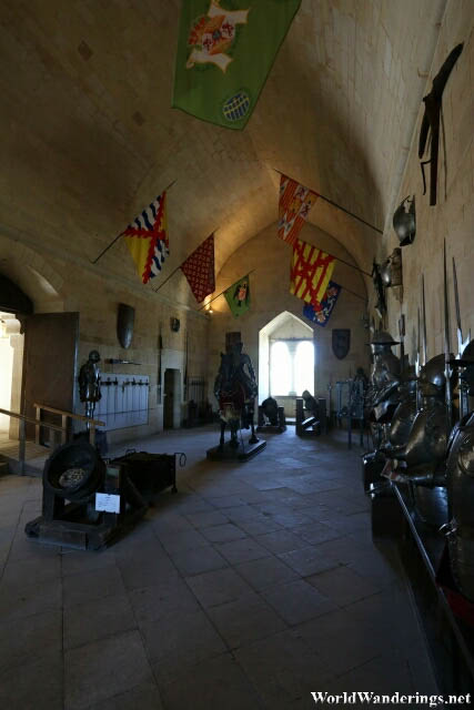 Weapons Room at the Alcazar de Segovia