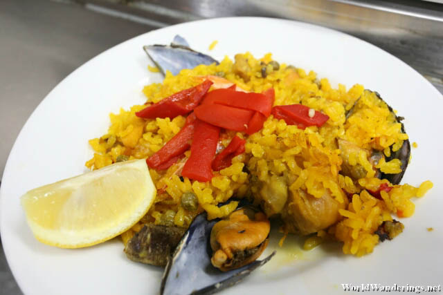 A Serving of Paella