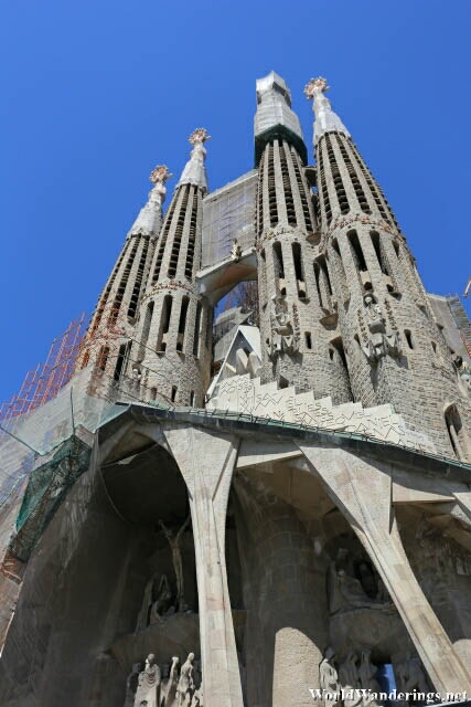Passion Facade of the Sagrada Familia